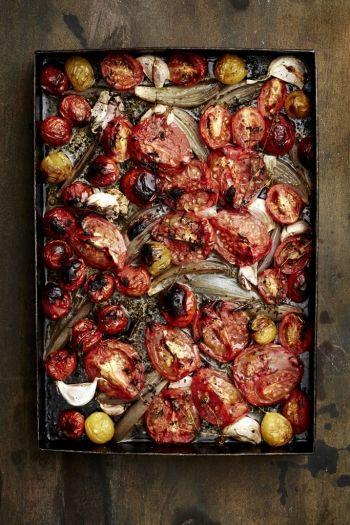 Oven-Roasted Tomatoes recipe on http://www.nomu.co.za/recipes