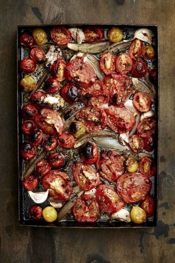 Oven-Roasted Tomatoes recipe on http://www.nomu.co.za/recipes