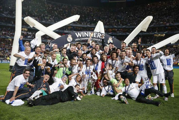 La foto de los campeones de la Champions League