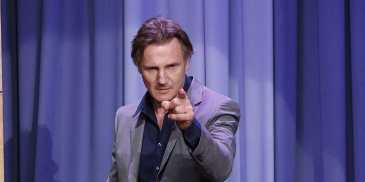 How to win a breakup: get Liam Neeson to prank call your ex - Elle