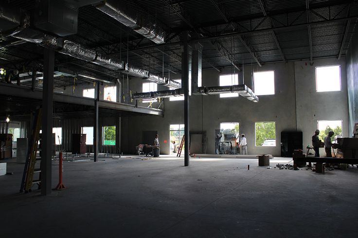 Progress continues on the future home of Miller's Minuteman Press. Photo taken on 9.12.14