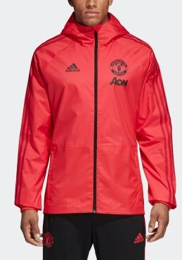 fe3f975dc adidas Manchester United 2018-19 Football Rain Jacket