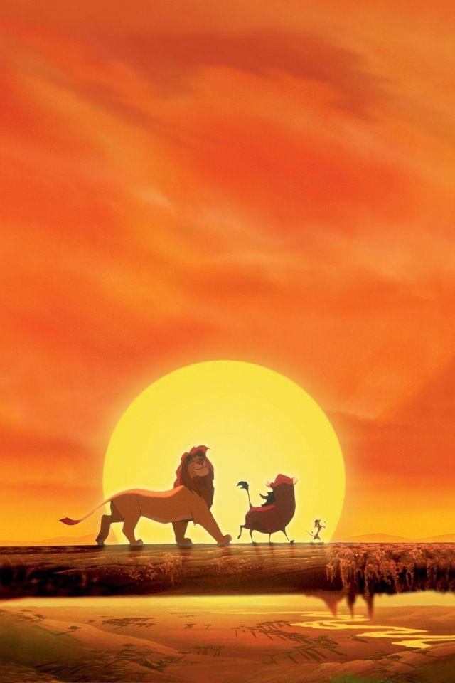 Fond écran iPhone - Disney - Le Roi Lion