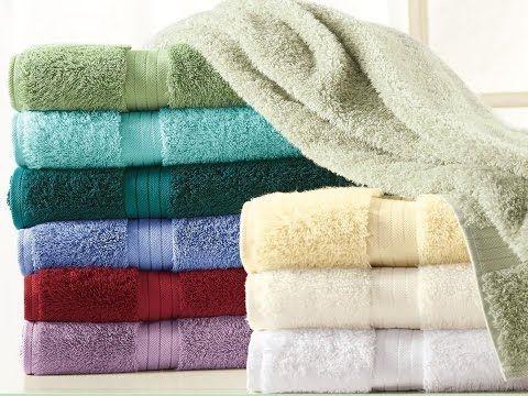 Como hacer que tus toallas viejas queden como nuevas, suaves y esponjosas - YouTube