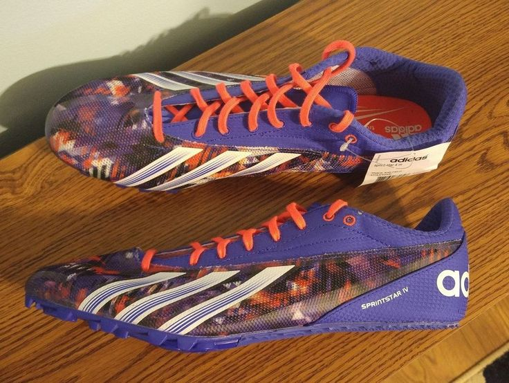 NEW Adidas Sprint Star 4 M IV Track & Field Spikes MEN'S Size 12 Shoes  B35916