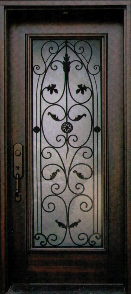 An exquisite and stylish Decorative Wrought Iron Front Door Insert Collection that will satisfy the taste & Best 20+ Iron front door ideas on Pinterest | Wrought iron doors ... Pezcame.Com
