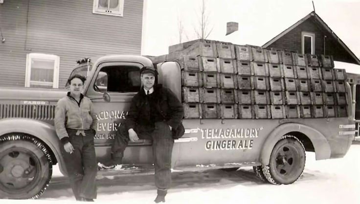 MacDonald Beverage South Porcupine ---  good old Temagami Dry 😃