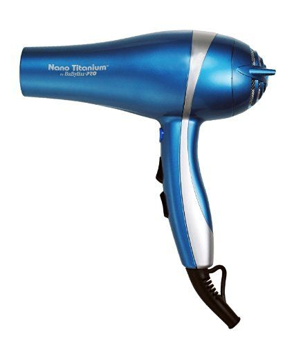 Babyliss Pro BABNT5548 2000 Watt Ionic Nano Titanium with Integrated Ion Generator Hair Dryer from Hot Tools Professional