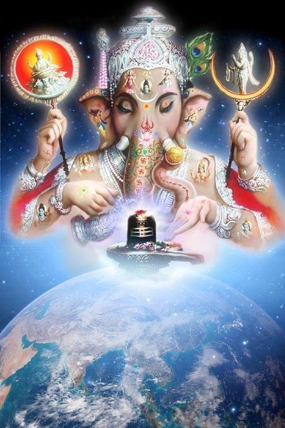 Ganesh Bhagwan & Shivling: