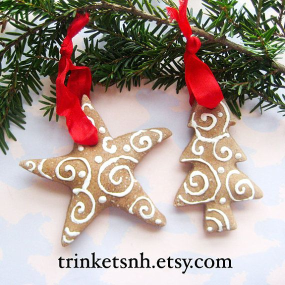 116 best salt dough creations images on pinterest christmas crafts salt dough ornaments hand made salt dough cinnamon christmas ornaments with painted swirls cinnamon ornamentsclay ornamentsdiy solutioingenieria Choice Image