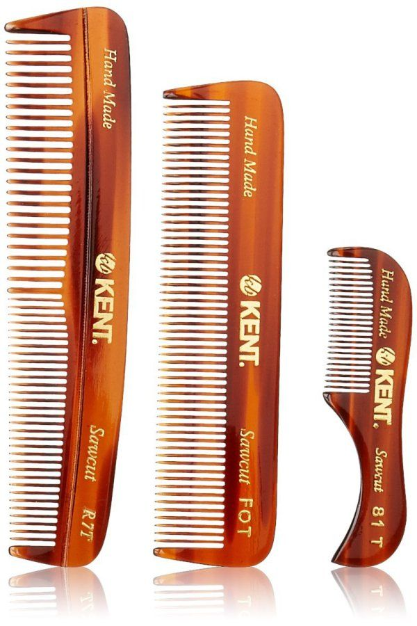 Beard comb or brush? Depending on beard growth stage you can use both for softening, cleaning, styling, detangling, straitening & applying beard oil or balm