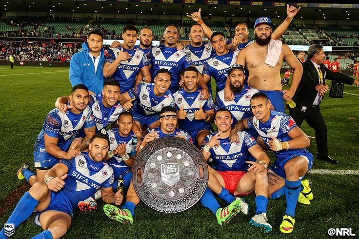 Winners! #PacificTest #HistoryHappens #NRL