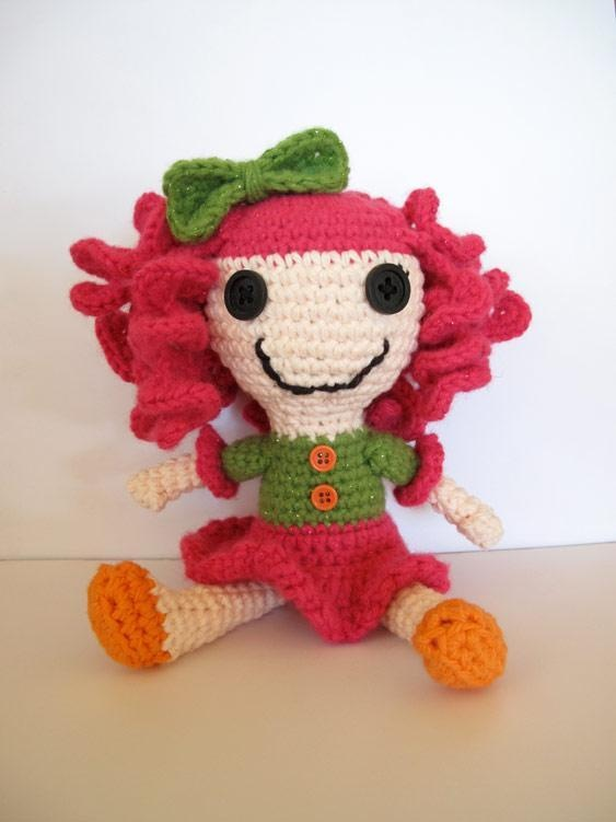 Crochet Wedding Dolls Pattern : 1000+ images about Lala Loopsy Doll on Pinterest ...