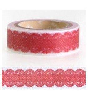 Masking Tape Roze Kantje dubbel