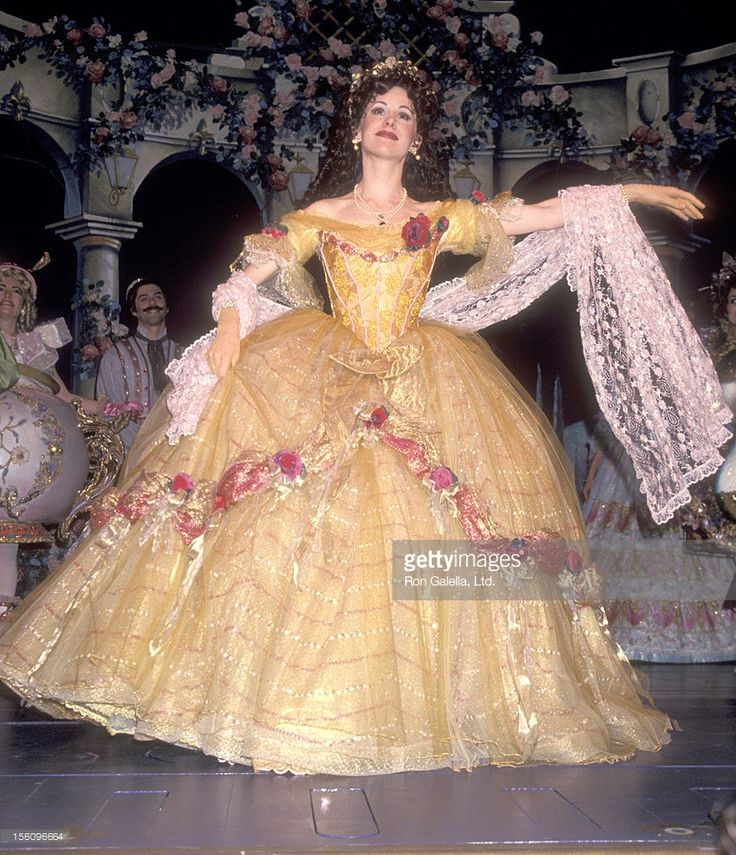 Actress Susan Egan performs in the 'Beauty and the Beast' Opening Night Performance on April 18, 1994 at The Palace Theatre in New York City.