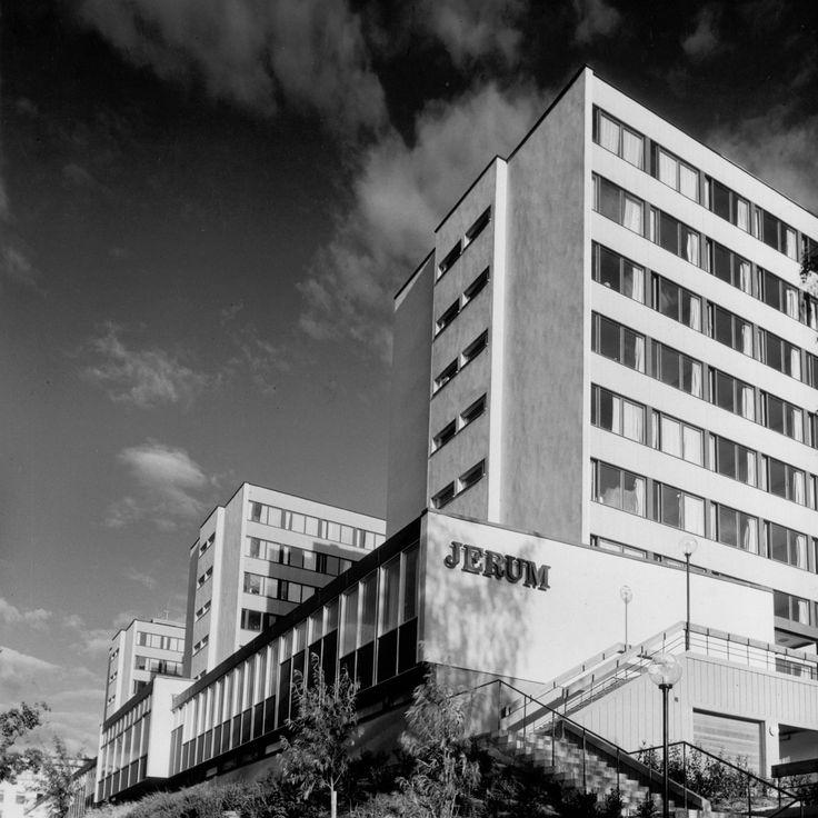 Studenthemmet Jerum Lidingövägen Arkitekt Klemming Och Thelaus Uppfört 1959