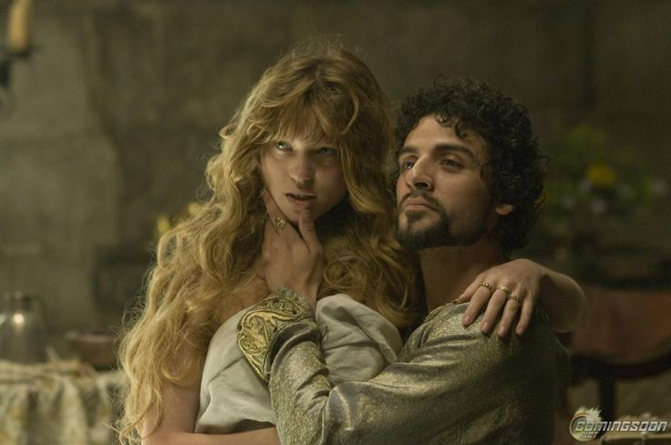 """Lea Seydoux as Isabella of Angouleme and Oscar Isaac as Prince John in """"Robin Hood."""" Description from fandango.com. I searched for this on bing.com/images"""