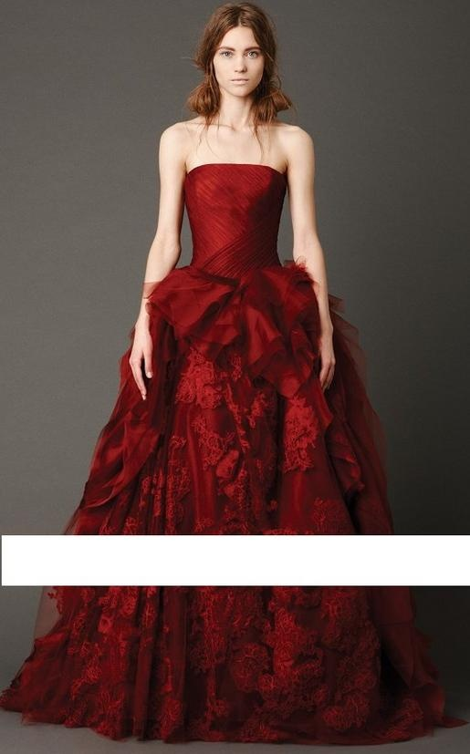 Ravishing Red Ball gown