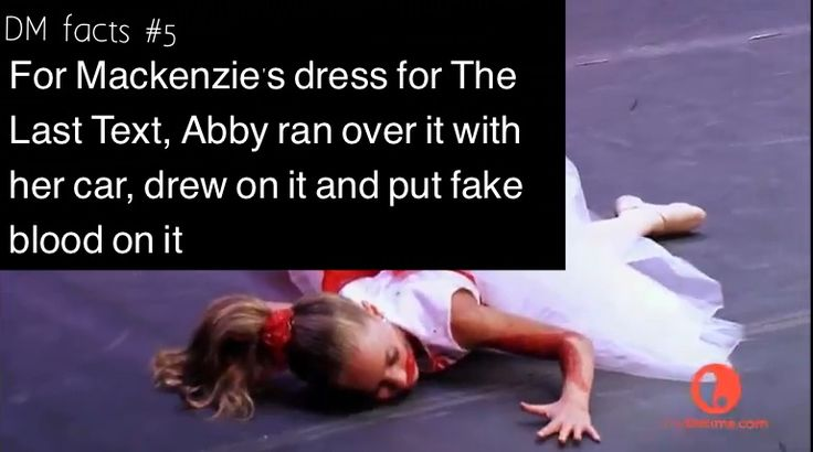 Dance moms facts made by dance moms fan page