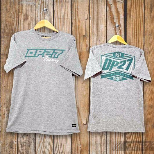 T-shirt TOP27-017 Grey  087845622777 (WA, SMS, & Telp) / D17560D1 (BBM) / op27factory (LINE)