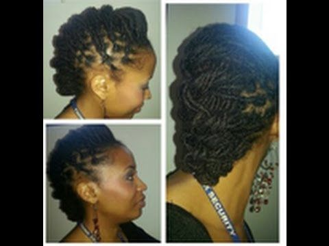 193 best hawt loc tutorials images on pinterest sisterlocks requested loc tutorial humped and tied down solutioingenieria Gallery