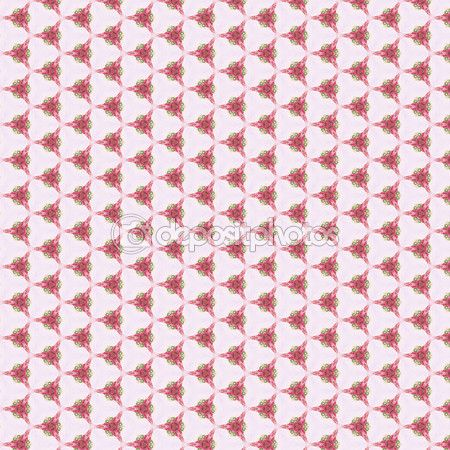 Decorative, abstract and geometrical pattern, pink