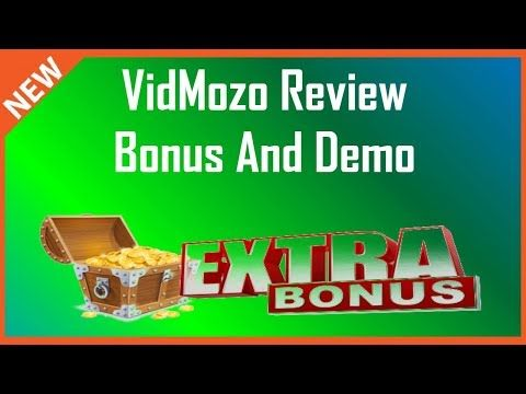 VidMozo Review   Demo Plus VidMozo Bonus - YouTube