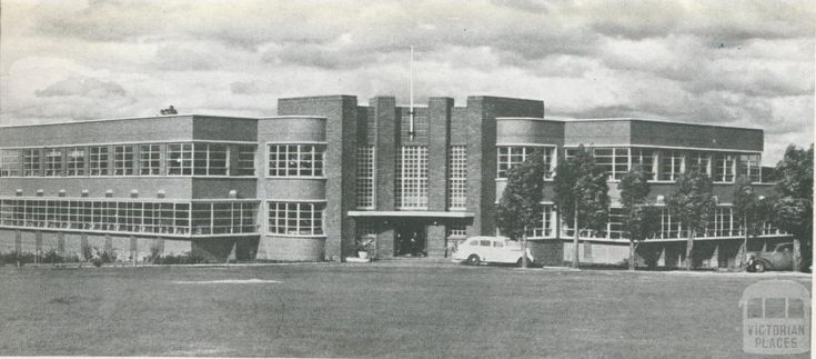 Technical School, Box Hill, 1955