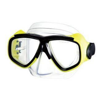 Search - Twin lenses scuba snorkel mask - RX ok - Yellow