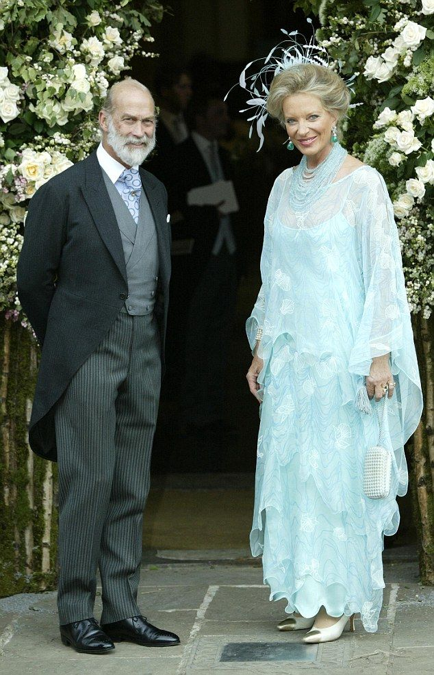 Prince and Princess Michael of Kent have become grandparents for the second time...