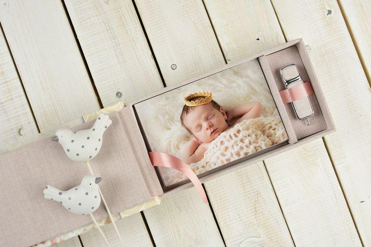 Pudełka na odbitki Kreativ 100% | 10x15 | fotografia noworodkowa | fotoprodukt | idealna pamiątka dla fotografa | marka fotografa