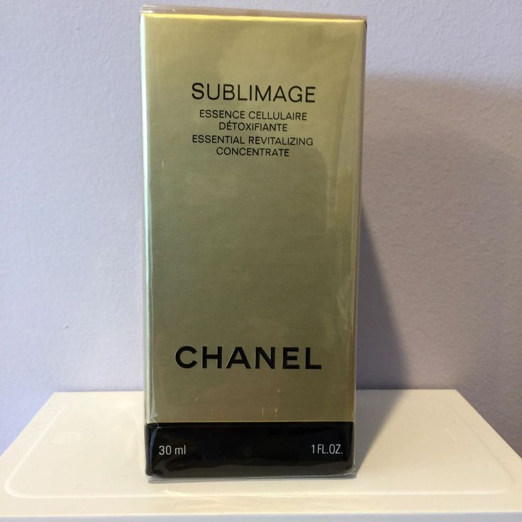 CHANEL SUBLIMAGE L'ESSENCE ESSENTIAL REVITALIZING CONCENTRATE, 1 oz NEW IN BOX #CHANEL