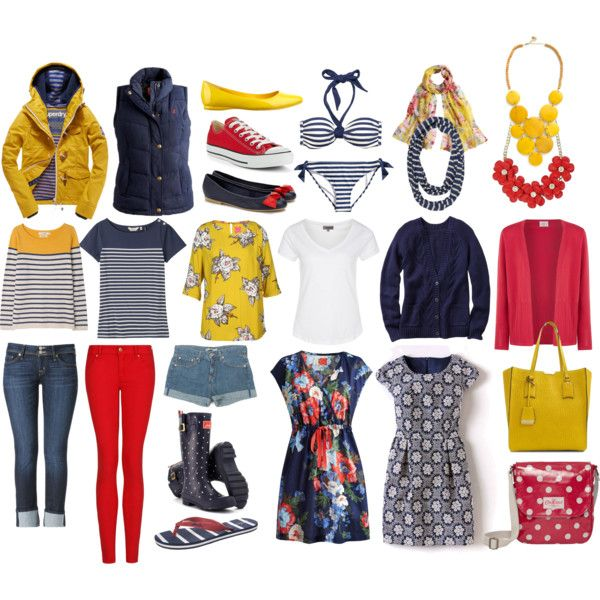 Capsule Wardrobe: Cornwall by tinkerbellaboo on Polyvore featuring Boden, Gap, Eastex, Joules, Seasalt, Zalando, Superdry, MANGO, Hudson Jeans and Junya Watanabe