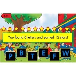 Caillou App for Kindle Fire