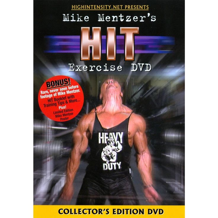 Mike Mentzer: Hit Exercise Bodybuilding