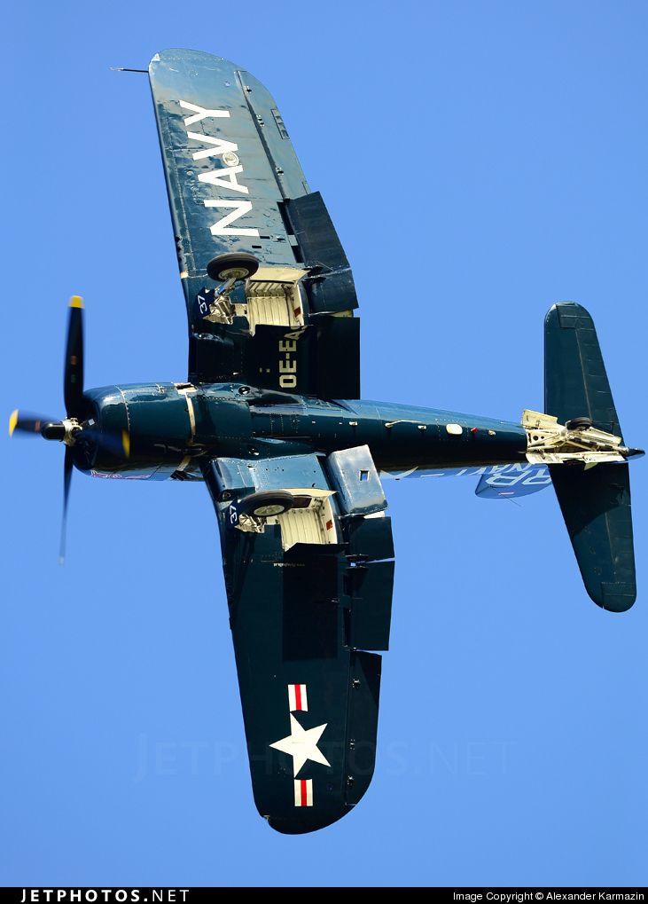 Chance Vought F4U-4 Corsair with an attitude problem!
