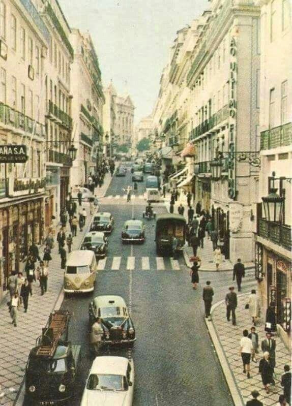 Rua Garrett, anos 60