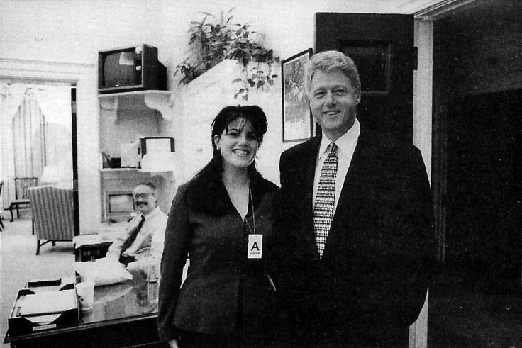 "August 17, 1998 - After months of denial, US president Clinton finally admitted in taped grand jury testimony that he had an ""improper physical relationship"" with Monica Lewinsky. In a national televised statement later the same day, he admits to the American people his relationship with Lewinsky was ""not appropriate"". #history #clinton #lewinsky"