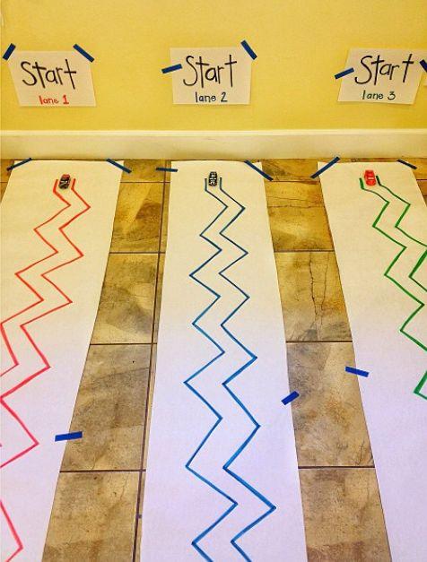 Z is for Zig-Zag Track - Practice Fine Motor control by Brilliant Beginnings Preschool