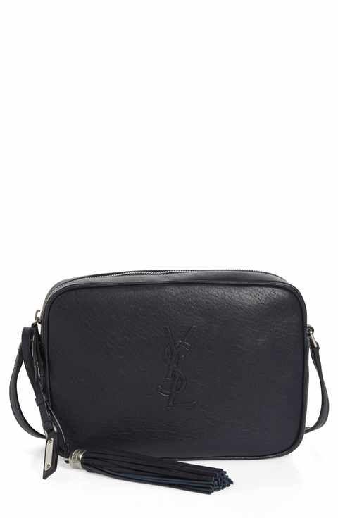 206924ae1b19 Saint Laurent Small Mono Leather Camera Bag