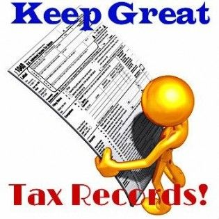 how to make recors for travel at work for tax