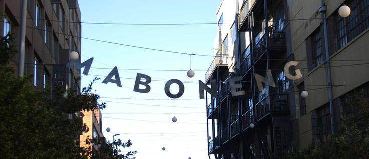Hotspot in #Johannesburg: #Maboneng Precinct