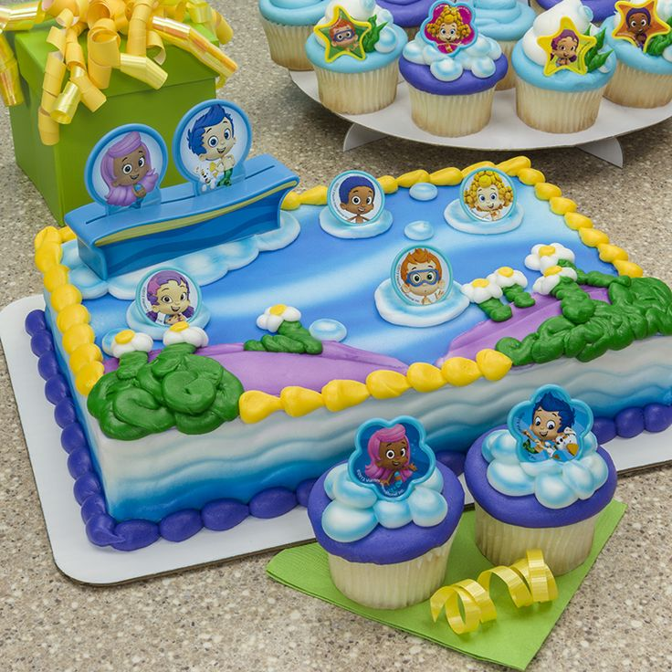 Bubble Guppies Party Food Ideas