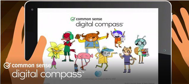 Digital Compass - 8 x 45 min games for students in grades 6-8 about digital citizenship