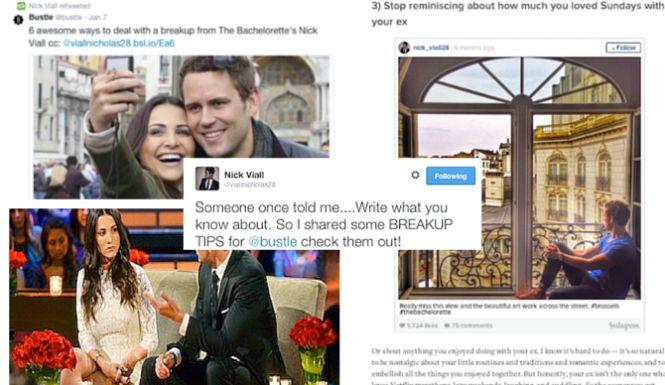 Nick Viall Shares Breakup Tips Hours Before #Bachelorette Andi &  Josh Split — Did He Know?