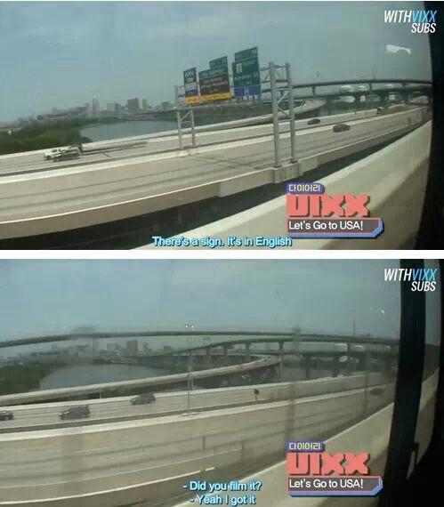 VIXX in America. Amazed by English.