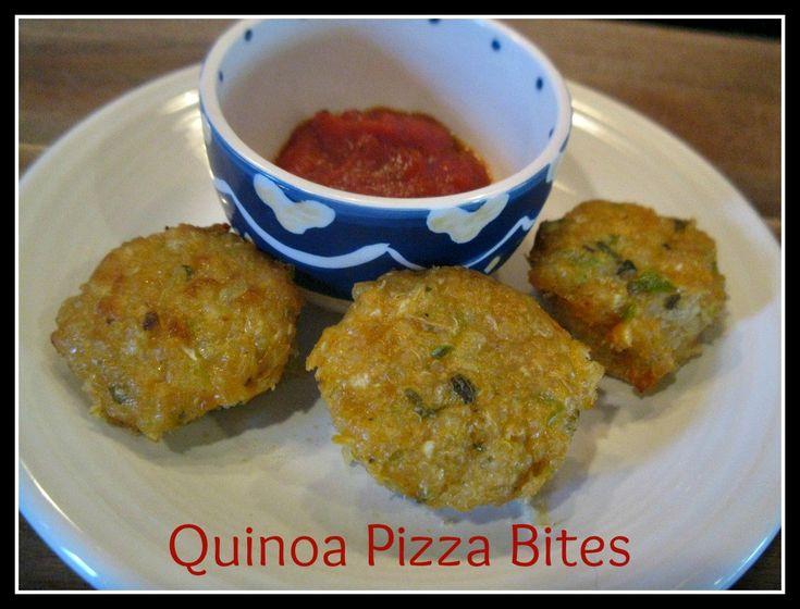 Mini Quinoa Pizza Bites