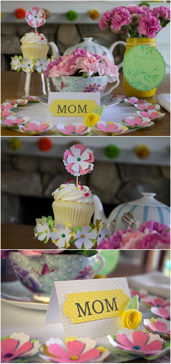 The ultimate Mother's Day tea party. #mothersday www2.fiskars.com