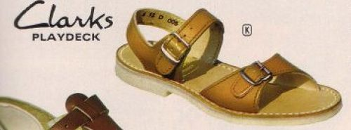 Sandals from the 70's - I must have had a pair of these in every size going!