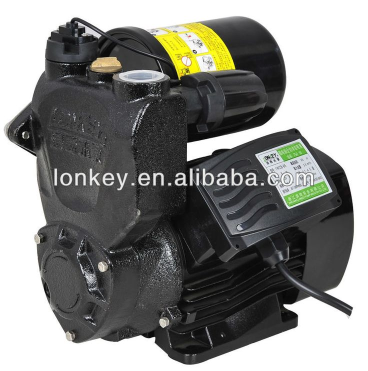 Domestic water pump, auto self-priming clean water pump